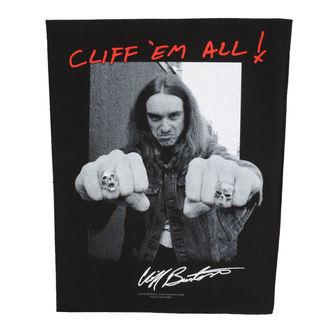 nášivka velká Metallica - Cliff Em Aill - RAZAMATAZ, RAZAMATAZ, Metallica