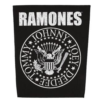 nášivka velká RAMONES - CLASSIC SEAL - RAZAMATAZ, RAZAMATAZ, Ramones