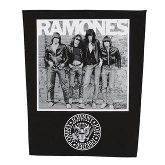 nášivka velká RAMONES - 1976 - RAZAMATAZ, RAZAMATAZ, Ramones
