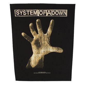 nášivka velká SYSTEM OF A DOWN - HAND - RAZAMATAZ, RAZAMATAZ, System of a Down