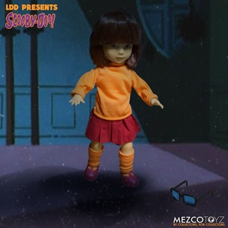 figurka (panenka) Scooby-Doo & Mystery - Living Dead Dolls - Velma, LIVING DEAD DOLLS, Scooby-Doo & Mystery