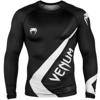 tričko pánské s dlouhým rukávem (termo) VENUM - Contender 4.0 Rashguard - Black/Grey-White, VENUM