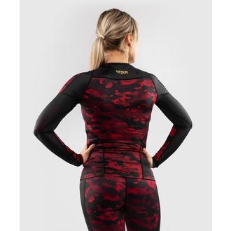tričko dámské s dlouhým rukávem (termo) VENUM - Defender - Rashguard - Black/Red, VENUM