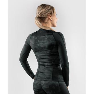 tričko dámské s dlouhým rukávem (termo) VENUM - Defender - Rashguard - Black/Black, VENUM