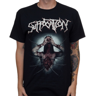 tričko pánské SUFFOCATION - Jesus Wept - Black - INDIEMERCH, INDIEMERCH, Suffocation