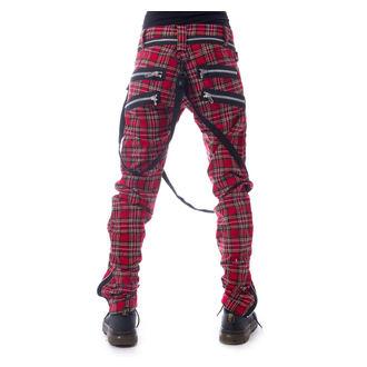kalhoty pánské VIXXSIN - VINCENT - RED TARTAN, VIXXSIN