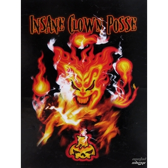 vlajka Insane Clown Posse HFL 0918, HEART ROCK, Insane Clown Posse
