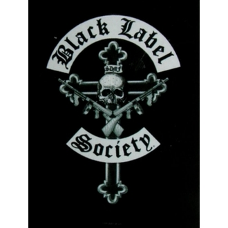 vlajka Black Label Society - Crucifix, HEART ROCK, Black Label Society