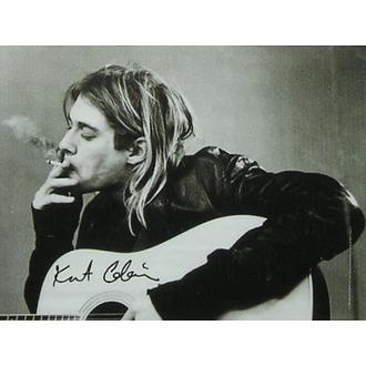 vlajka Nirvana - B & W Guitar, HEART ROCK, Nirvana