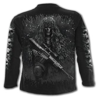 tričko pánské s dlouhým rukávem SPIRAL - TACTICAL REAPER - Black, SPIRAL