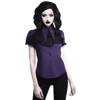 košile dámská KILLSTAR - Meave Rufe - PLUM - KSRA001661
