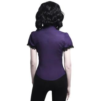 košile dámská KILLSTAR - Meave Rufe - PLUM, KILLSTAR