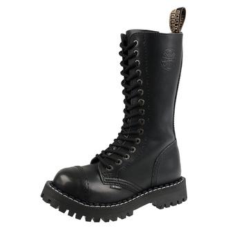 boty STEEL - 15 dírkové - black - 135/136/Z
