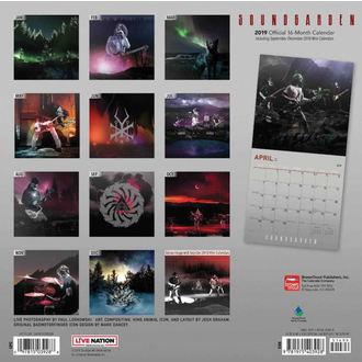 kalendář na rok 2019 SOUNDGARDEN, NNM, Soundgarden