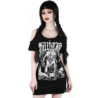 tričko dámské KILLSTAR - Hungry Distressed - BLACK - KSRA001833