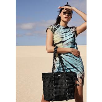 taška (kabelka) URBAN CLASSICS - Worker Shopper Bag - black, URBAN CLASSICS