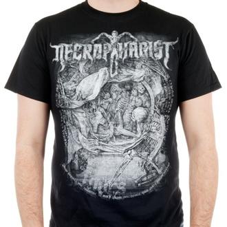 tričko pánské NECROPHAGIST - Mors - Black - INDIEMERCH, INDIEMERCH, Necrophagist