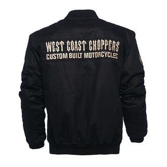 bunda pánská WEST COAST CHOPPERS - ASSUALT - BLACK, West Coast Choppers