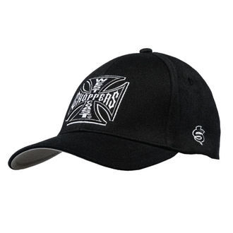 kšiltovka WEST COAST CHOPPERS - OG CROSS AUSTIN - Black