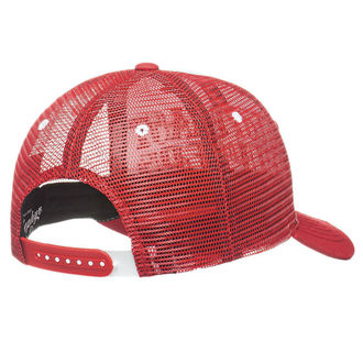 kšiltovka WEST COAST CHOPPERS - CLUTCH LOGO ROUND BILL - Red, West Coast Choppers
