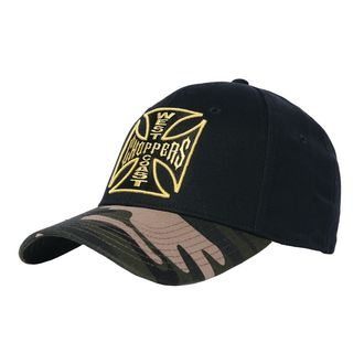 kšiltovka WEST COAST CHOPPERS - CAMO WARRIOR - Black, West Coast Choppers