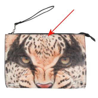 kabelka -psaníčko- IRON FIST - Here Kitty Clutch - Leopard - POŠKOZENÁ, IRON FIST