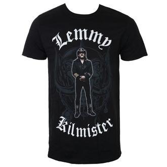 tričko pánské Lemmy Kilmister - Memorial Statue - Black - ROCK OFF, ROCK OFF, Motörhead