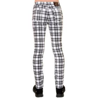 kalhoty (unisex) 3RDAND56th - CHECKED SKINNY JEANS - JM1455