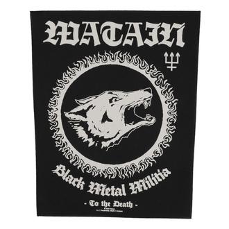 nášivka velká Watain - Black Metal Militia - RAZAMATAZ, RAZAMATAZ, Watain