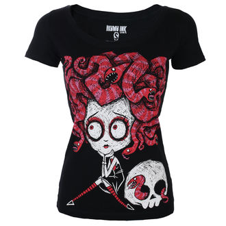 tričko dámské AKUMU INK - Medusa In Love Scoop - Women, Akumu Ink
