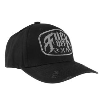 kšiltovka HYRAW - FUCK OFF - CAP-CRIME