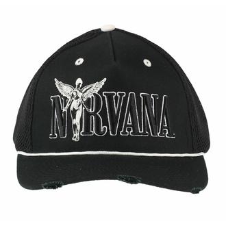 kšiltovka NIRVANA - IN-UTERO MONOCHROME - AMPLIFIED, AMPLIFIED, Nirvana