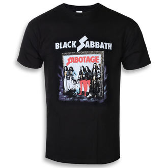 tričko pánské Black Sabbath - Sabotage - ROCK OFF, ROCK OFF, Black Sabbath