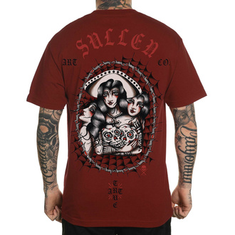tričko pánské SULLEN - CHINGY FRINGE - ROSEWOOD - SCM2508_ROSW