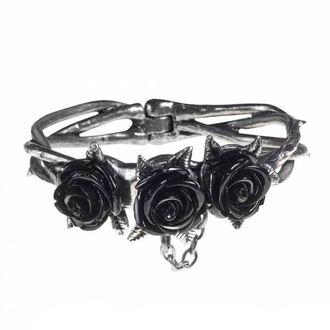 náramek ALCHEMY GOTHIC - Wild Black Rose, ALCHEMY GOTHIC