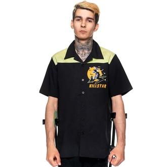 košile pánská KILLSTAR - Witch Queen - Bowling - Black, KILLSTAR