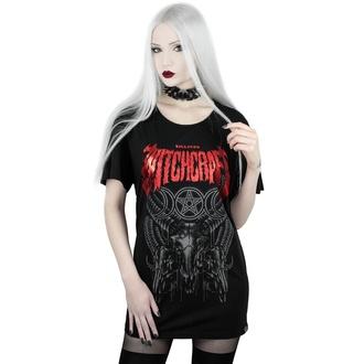 tričko dámské KILLSTAR - Witchcraft Relaxed - BLACK - KSRA001817