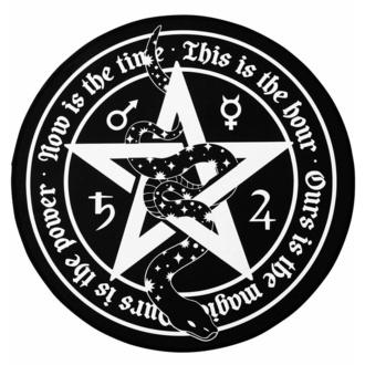 koberec KILLSTAR - Witchy Round - Black, KILLSTAR
