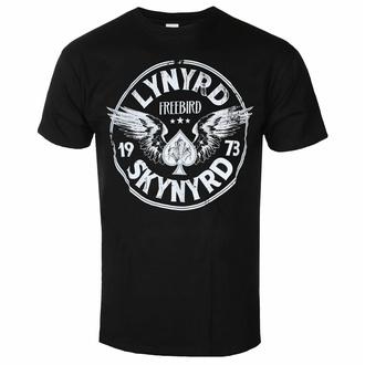 tričko pánské Lynyrd Skynyrd - Freebird '73 Wings - Black - ROCK OFF, ROCK OFF, Lynyrd Skynyrd