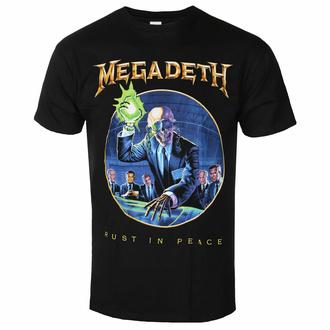 tričko pánské Megadeth - RIP Anniversary BL - ROCK OFF, ROCK OFF, Megadeth