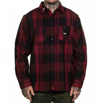 košile pánská SULLEN - VALENTINE - SCM3128_BKRD