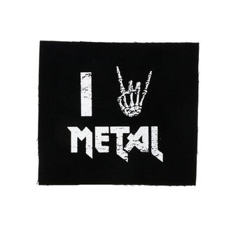 nášivka I love metal