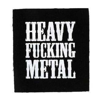 nášivka Heavy fucking metal