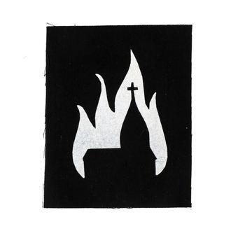 nášivka Burning church
