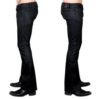 kalhoty pánské (jeans) WORNSTAR - Hellraiser Coated - Charcoal, WORNSTAR