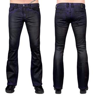 kalhoty pánské (jeans) WORNSTAR - Hellraiser Coated - Purple Haze, WORNSTAR