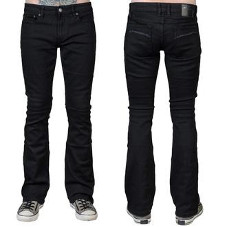 kalhoty pánské (jeans) WORNSTAR - Hellraiser - Black - WSP-HRK