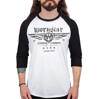 tričko pánské s 3/4 rukávem WORNSTAR - Machine Shop - WSRTM-MACS