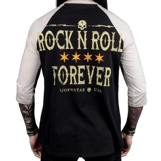 tričko pánské s 3/4 rukávem WORNSTAR - Rock N Roll Forever, WORNSTAR