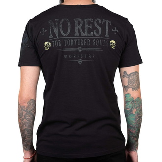 tričko pánské WORNSTAR - No Rest, WORNSTAR